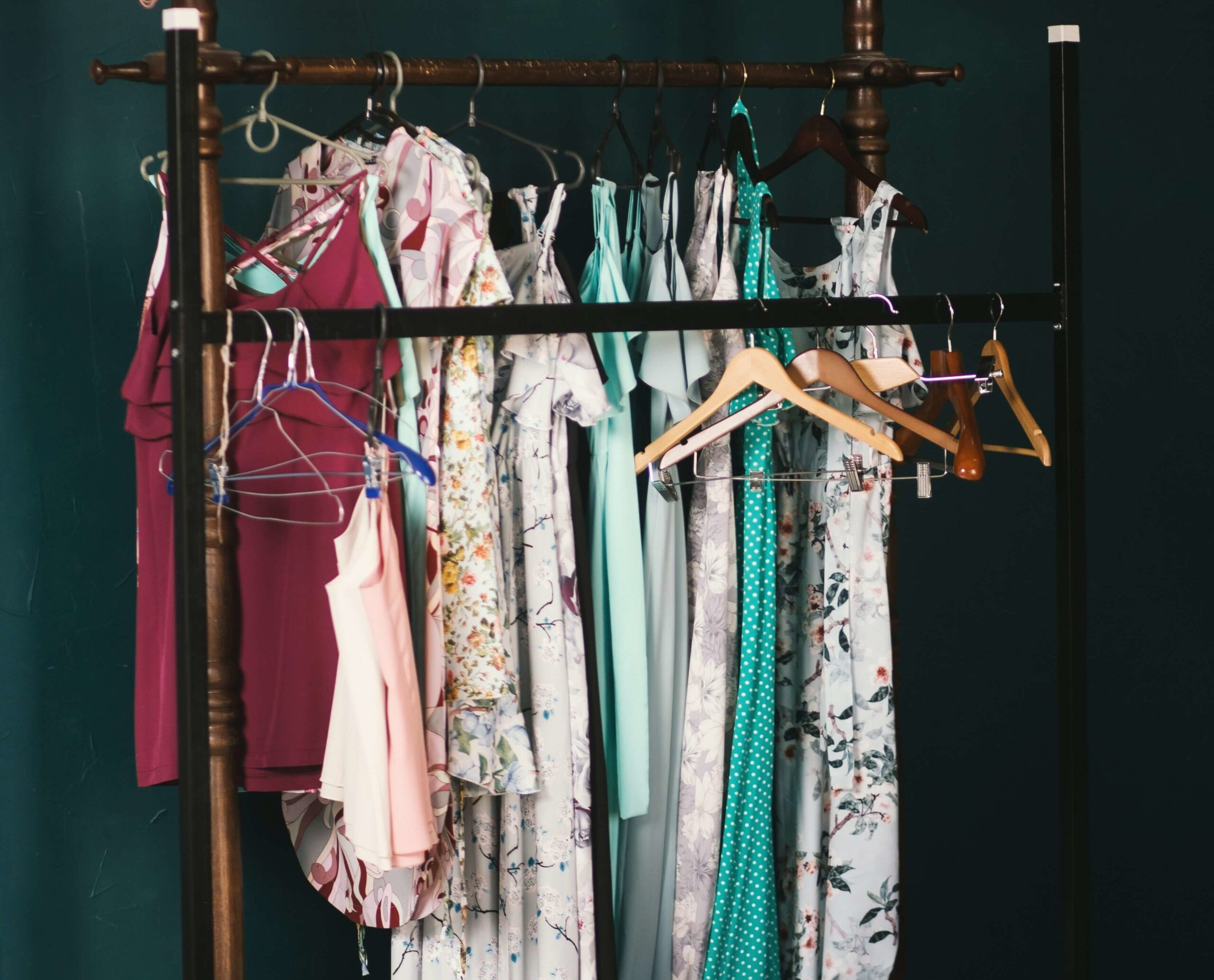 Overzichtelijke kledingkast